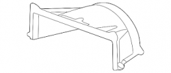 Cooling System - Radiators, Tanks, Reservoirs &  Parts - GM - GM OEM Radiator Cooling Upper Shroud (2011-2014)*