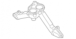 Cooling System - Thermostats, Water Pumps, Housing Parts - GM - GM OEM Thermostat Housing (2011-2016)