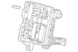 Engine - Sensors & Electrical - GM - GM OEM Upper Panel Electrical Junction Block (2015-2018)