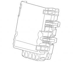 Engine - Sensors & Electrical - GM - GM OEM Junction Block Cover (2015-2018)