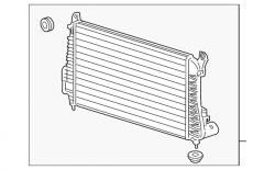 2017-2020- L5P VIN Code Y - Intercooler & Piping - GM - GM OEM StocK Intercooler (2017-2018)