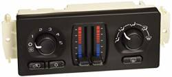 2001-2004 LB7 VIN Code 1 - Air Conditioning - GM - GM OEM Air Conditioning/Heater Control Unit Mauual Dual Zone W /Rear Defrost (2003-2004)