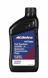 2011-2016 LML VIN Code 8 - Additives / Lubericants / Fluids / Sealants - GM - GM AC Delco Dexron VI Full Synthetic Automatic Transmission Fluid QT. (2001-2019)