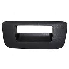 Exteriors Accessories/Necessities - Parts-Handles/Latches/Misc. - GM - GM OEM Tailgate Handle Bezel No Key Hole (2007.5-2014)