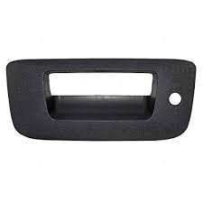 Exteriors Accessories/Necessities - Parts-Handles/Latches/Misc. - GM - GM OEM Tailgate Handle Bezel With Key Hole (2007.5-2014)