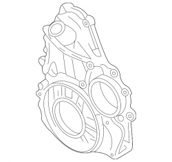 Engine - Engine Components - GM - GM OEM Front Timing Cover (2004.5-2005)