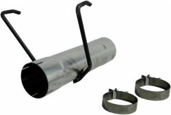 "Exhaust - Delete Pipes - MBRP - MBRP Dodge/Cummins 17"" Muffler Delete Pipe, Aluminized (2007.5-2012)"