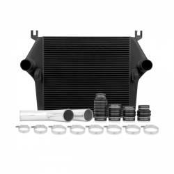 Intercooler & Piping - Intercoolers & Piping - Mishimoto - Mishimoto Dodge /Cummins, 6.7L Intercooler Kit w/Pipes, Black (2007.5-2009)