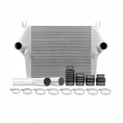 Intercooler & Piping - Intercoolers & Piping - Mishimoto - Mishimoto Dodge /Cummins, 6.7L Intercooler Kit w/Pipes, Silver (2010-2012)