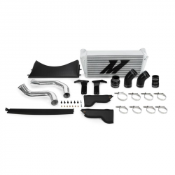 Mishimoto - Mishimoto Dodge /Cummins, 6.7L Intercooler Kit w/Pipes, Black (2013-2018)