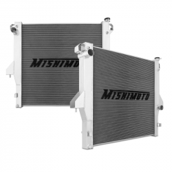 Cooling System - Radiators, Tanks, Reservoirs, Parts - Mishimoto - Mishimoto Dodge/Cummins, 6.7L Aluminum Radiator (2010-2012)