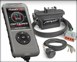 Superchips - SuperChips Dodge/Cummins Amp'D Throttle Booster Kit w/ Power Switch + Flashcal (2011-2016)
