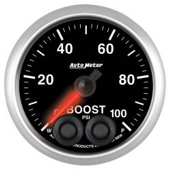 "Gauges & Pods - Gauges - Auto Meter - Auto Meter Elite Series 2-1/16"" Boost, 0-100 PSI, Stepper Motor (Universal)"
