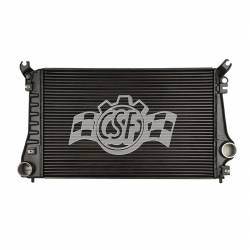 Intercooler & Piping - Intercoolers & Piping - CSF - CSF & OEM, Dodge Cummins,6.7L, Heavy Duty Plate & Bar Intercooler (2010-2010)