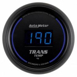 "Gauges & Pods - Gauges - Auto Meter - Auto Meter Cobalt Digital Series, 21/16"" Transmission Temperature, 0-340 °F (Universal)"