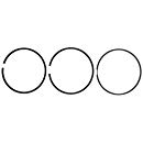 Mahle - Mahle Dodge/Cummins 6.7L Ring Set for Single Piston (.020 Over) (2007-2018)