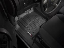 Interior  - Interiors Accessories/Necessities - WeatherTech - WeatherTech Duramax  Front Driver & Passenger Laser Measured Floor Liners (Black) 2015-2016