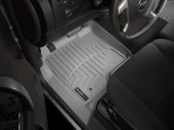Interior  - Interiors Accessories/Necessities - WeatherTech - WeatherTech Duramax  Front Driver & Passenger Laser Measured Floor Liners (Grey) 2015-2016