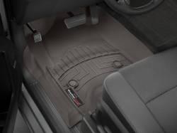 Interior  - Interiors Accessories/Necessities - WeatherTech - WeatherTech Duramax  Front Driver & Passenger Laser Measured Floor Liners (Cocoa) 2015-2016