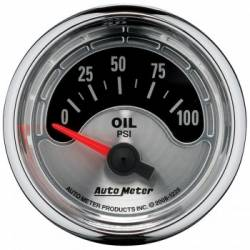 Gauges & Pods - Gauges  - Auto Meter - Auto Meter Air Core Series, 2-1/16, Oil Pressure , 0-100 PSI