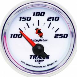 "Gauges & Pods - Gauges - Auto Meter - Auto Meter C2 Series, 2-1/16"" Transmission Temperature, 100-250F (Universal)"