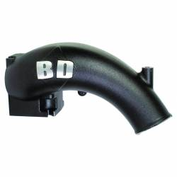 2004.5-2007 5.9L 24V Cummins (Late) - Air Intakes - BD Diesel Performance - BD Power  X-Flow Power Intake Elbow (Black) (2003-2007)