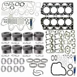 Engine - Engine Gasket Kits/Rebuild Kits - Mahle - Mahle Motorsports Complete Master Engine Rebuild Kit w/Performance Cast Pistons, No Pockets (2006-2010)