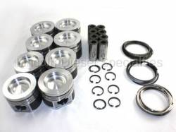 Mahle - Mahle Motorsports Complete Master Engine Rebuild Kit w/Performance Cast Pistons, No Pockets (2006-2010) - Image 2