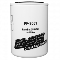 2011-2016 LML VIN Code 8 - Filters - FASS - FASS Fuel Systems Replacement Fuel Filter