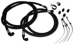 Fleece - Fleece Dodge/Cummins Transmission Line Kit 68RE, 2010-2012
