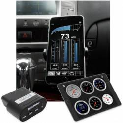 Gauges & Pods - Gauges - Auto Meter - Auto Meter Dashlink, OBDII Digital Gauge, Apple IOS/Android