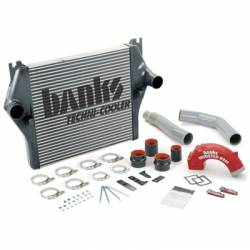 Intercooler & Piping - Intercoolers & Piping - Banks - Banks Power Dodge/Cummins 5.9L, Techni-Cooler System (2003-2005)