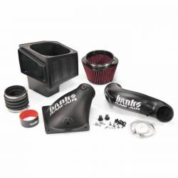 2010-2012 6.7L 24V Cummins - Air Intakes - Banks - Banks Dodge/Cummins 6.7L, Ram Cold Air Intake System (Oiled Cleanable) (2010-2012)