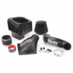 2010-2012 6.7L 24V Cummins - Air Intakes - Banks - Banks Dodge/Cummins 6.7L, Ram Cold Air Intake System (Dry Disposable) (2010-2012)
