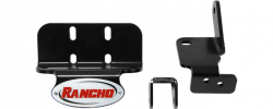 Suspension - Shock Absorbers - Rancho - Rancho Dodge/Cummins 2500 Dual Steering Damper Bracket (2003-2013)