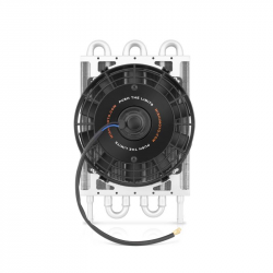Transmissions - Transmission Coolers/Fans - Mishimoto - Mishimoto Heavy-Duty Transmission Cooler with Electric Fan (Universal)
