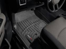 WeatherTech - WeatherTech Dodge/Ram Front Driver & Passenger, Crew/Mega Cab  Laser Measured Floor Liners (Black) 2010-2012