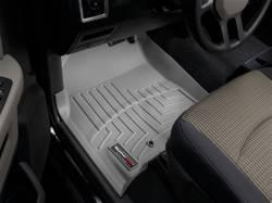 WeatherTech - WeatherTech Dodge/Ram Front Driver & Passenger, Crew/Mega Cab  Laser Measured Floor Liners (Grey) 2010-2012