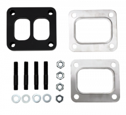 "Turbo - Accessories & Parts - Wehrli Custom Fabrication - Wehrli Custom Fab 1/2"" T4 Spacer Plate Kit (Universal)"
