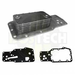 Cooling System - Oil Coolers - BOSTECH - BOSTECH Dodge/Cummins 5.9L,  Engine Oil Cooler Kit (2003-2007)