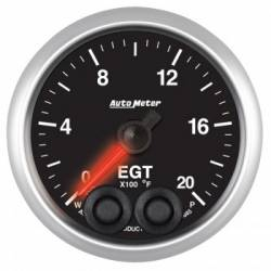"Gauges & Pods - Gauges - Auto Meter - Auto Meter Designer Black Series Water Temp. 2-1/16"", 100-250 °F (Universal)"
