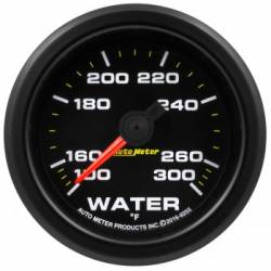 "Gauges & Pods - Gauges  - Auto Meter - Auto Meter Extreme Environment Series, 2 1/16"", Gauge, Water Temp. 300ºF, Stepper Motor w/Peak & Warning (Universal)"