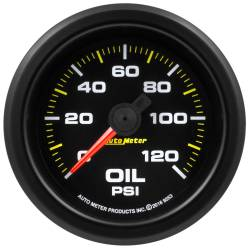 "Gauges & Pods - Gauges - Auto Meter - Auto Meter Extreme Environment Series, 2 1/16"" Gauge, Oil Pressure 120PSI, Stepper Motor w/Warning  (Universal)"