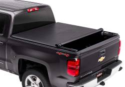 Exteriors Accessories/Necessities - Tonneau/Bed Covers - TRUXEDO - TRUXEDO TruXport GM/Duramax Soft Roll Up Truck Bed Tonneau Cover , 8ft,. Bed (2007.5-2014)
