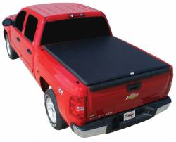 Exterior - Tonneau/Bed Covers - TRUXEDO - TRUXEDO EDGE, GM/Duramax  Soft Roll-up Tonneau Cover, 6.6 Ft. Bed (2001-2007)