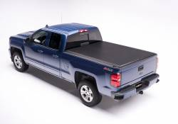 Exteriors Accessories/Necessities - Tonneau/Bed Covers - TRUXEDO - TRUXEDO EDGE, GM/Duramax  Soft Roll-up Tonneau Cover, 6.6 Ft. Bed (2015-2019)