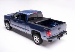 Exteriors Accessories/Necessities - Tonneau/Bed Covers - TRUXEDO - TRUXEDO EDGE, GM/Duramax  Soft Roll-up Tonneau Cover, 8 Ft. Bed (2015-2019)