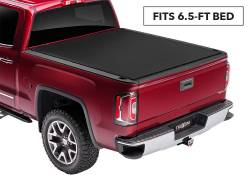 Exteriors Accessories/Necessities - Tonneau/Bed Covers - TRUXEDO - TRUXEDO SENTRY CT, GM/Duramax Hard Rolling Truck Bed Tonneau Cover, 6.6ft. (2015-2019)