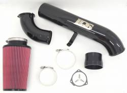 "2001-2004 LB7 VIN Code 1 - Air Intakes - Lincoln Diesel Specialities - LDS 4"" Stage 2 High -Flow Intake Kit 2001-2004"