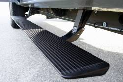 Exteriors Accessories/Necessities - Accessories – Steps, Running Boards, Rails, Bed Lights, Grill Covers - AMP RESEARCH - AMP RESEARCH PowerStep Electric Running Boards, Extended/Crew Cab (1999-2007)